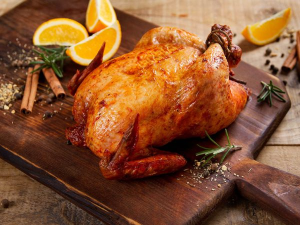 Whole BBQ Roast Chicken